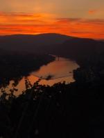 Mosel bei Sonnenuntergang II